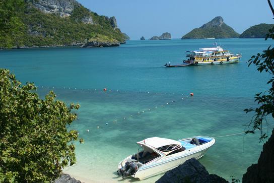 Tour and Private Boats at Ang Thong