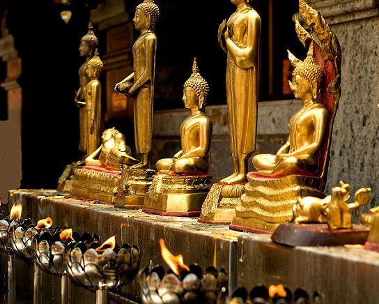 Buddha Images at Wat Phrathat Doi Suthep