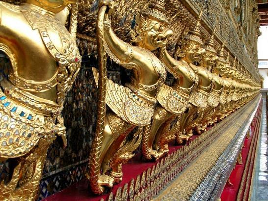 Garudas at Wat Phra Kaew Complex
