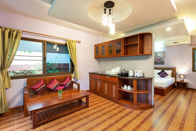 Harmony Naturist Resort Kitchen
