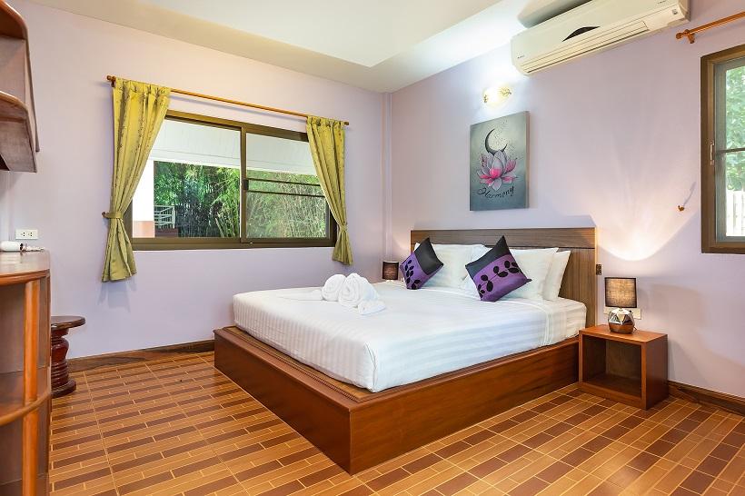 Harmony Naturist Resort Rawai Bedroom