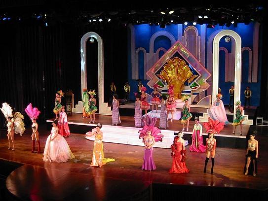 Ladyboy Cabaret Show in Bangkok