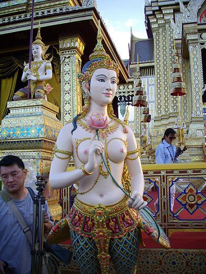 Kinnaree at Sanam Luang
