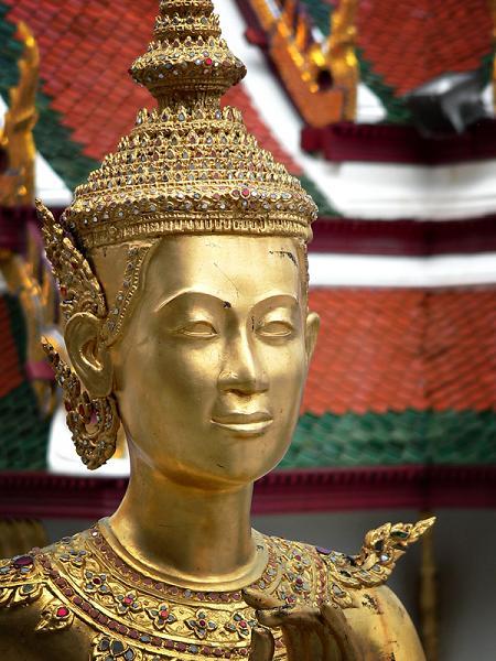 Kinnari at Wat Phra Kaew