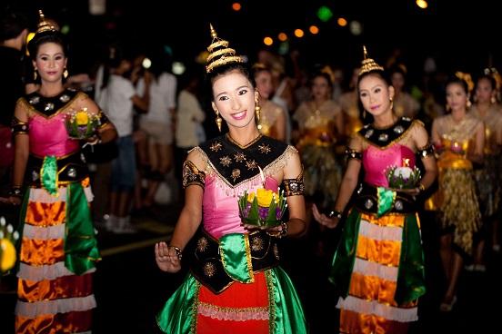 Loy Krathong Festival in Phuket