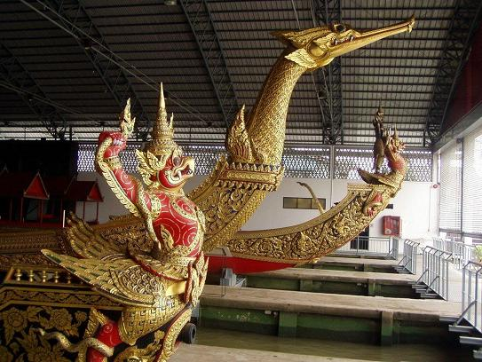 Mythical Creatures at the Royal Barge Museum