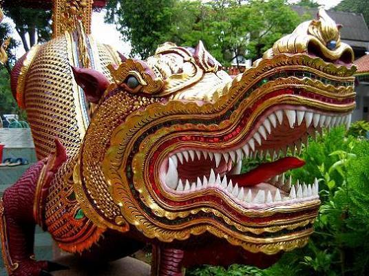 A Bright Naga Serpent Temple Guard