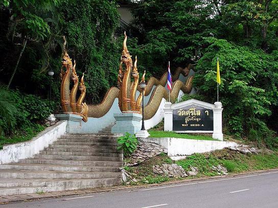 Naga Serpents at Wat Srisoka Chiang Mai